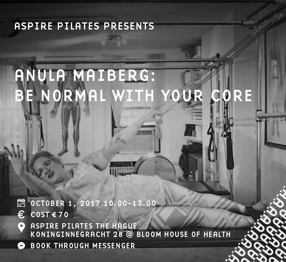 Anula Maiberg at Aspire PIiates The Hague